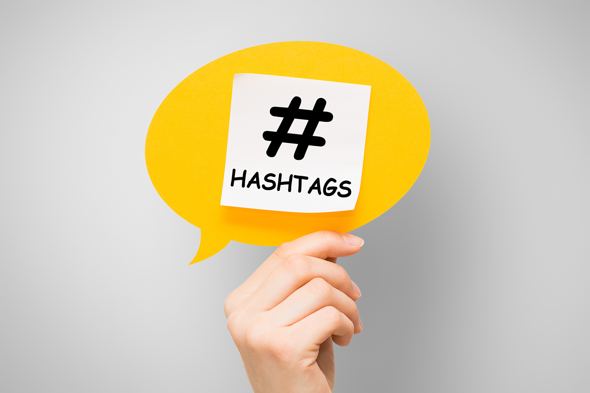 effective hashtag use
